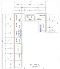 how to plan layout of kitchen terrific l shaped kitchen floor plans u with island inspiration