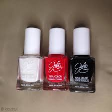 haul julie g nail polish collection styled with joy