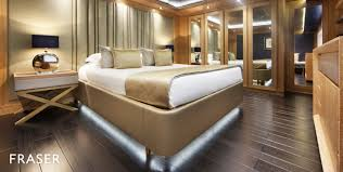 Yacht Bedroom by M Y Beatrix Motor Yacht For Charter Fraser