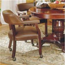 Kitchen Table And Chairs With Casters by Dining Chair With Casters Akron Cleveland Canton Medina