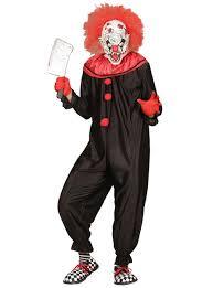 killer clown costume mens black and killer clown costume