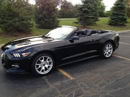 Black Convertible Mustang 2015 Mustang Convertible Ecoboost Premium 50th Anniversary Edition