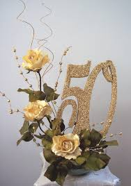 Table Decorations Centerpieces 50th Anniversary Table Decorations 50th Centerpieces With