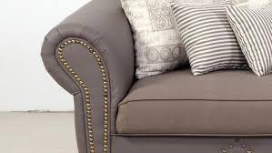 big sofa carlos sofa corin taupe grau inkl kissen beige