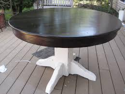 refinishing kitchen table round ideas of refinishing kitchen