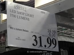 Costco Led Light Fixture Feit Electric 4ft Led Shop Light