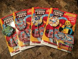 transformer rescue bots party supplies transformers rescue bots birthday party favors crayons colouring