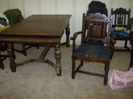 antique dining table and chairs marceladick com