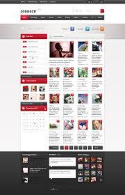 connect u2013 premium magazine template news page v4 u2013 over millions