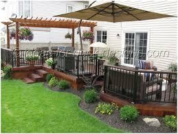 backyards gorgeous small deck designs backyard backyard
