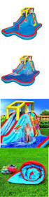 Backyard Blow Up Pools by Best 20 Inflatable Slide Ideas On Pinterest Pontoon Boat With