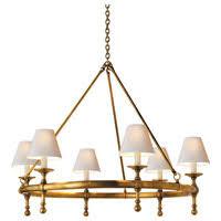 Brass Antique Chandelier Visual Comfort U0026 Co Chandeliers