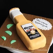 beer cake swapna u0027s cuisine corona beer bottle cake