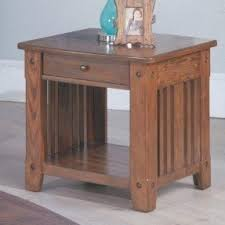 Oak Accent Table Oak End Tables Foter