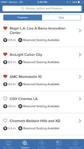 flixster showtimes tickets on the app store