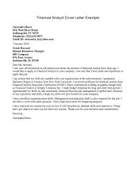 finance cover letter examples images cover letter sample