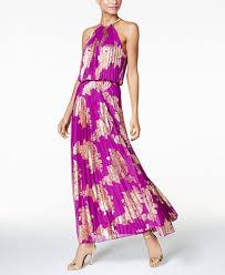 Antiqued Pink And Fuschia Beaded Msk Dresses For Women Macy U0027s