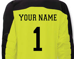 goalkeeper jersey design your own goalkeeper jersey etsy
