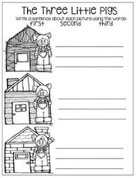 pigs literacy math printables includes