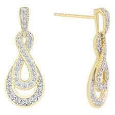 gold diamond earrings diamond earrings ernest jones