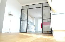 separation de cuisine en verre verriere separation cuisine salon separation de cuisine en verre