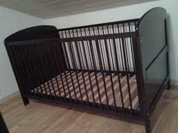 chambre bebe noir lit bébé évolutif 70x140 comme neuf noir lits pour enfants de