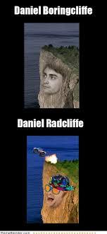 Daniel Radcliffe Meme - daniel boringcliffe daniel radcliffe haha passionate about