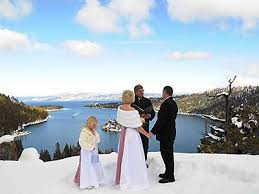 South Lake Tahoe Wedding Venues High Mountain Weddings Lake Tahoe Gorgeous Winter Wedding At Lake