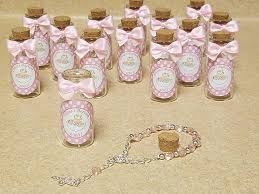 baptism favors for 12 baptism favors mini rosaries favors bottle with cork
