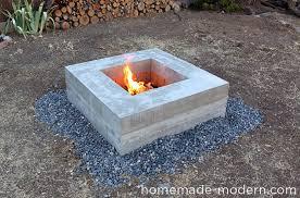 Firepit Plans Concrete Pit Plans Autour