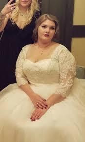where to buy oleg cassini wedding dresses oleg cassini 8cwg731 organza 3 4 sleeve 500 size 22w used