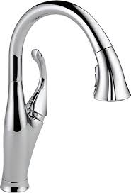 touch sensitive kitchen faucet delta single handle pull kitchen faucet with