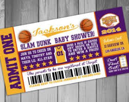 25 best lakers baby shower images on pinterest shower ideas