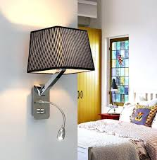bedroom wall sconces sconces bedside reading sconces creative fabric wall sconces band