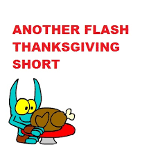 dinon t be a another flash thanksgiving by blackrhinoranger