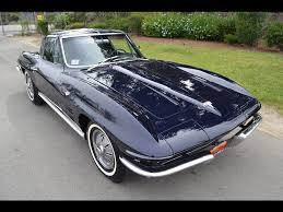 64 stingray corvette for sale sold 1964 chevrolet corvette coupe daytona blue for sale by