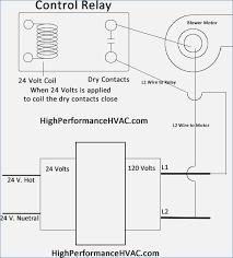 hvac fan relay wiring diagram americansilvercoins info