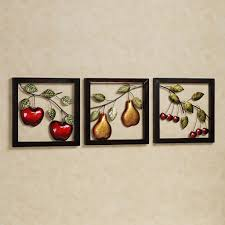 beautiful fruits metal wall art decor kitchen with black frame metal wall art decor and sculptures with innovative artistic forms to enhance home decor beautiful