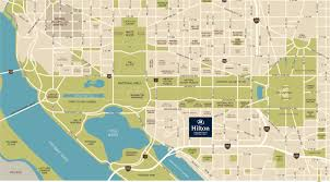 Metro Washington Dc Map by National Mall Hotel Hilton Washington Dc National Mallhilton