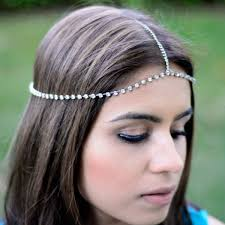 chain headpiece tassel metal chain headpiece boho band hair