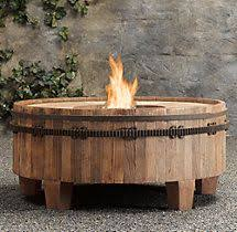 Restoration Hardware Fire Pit by This Look Great By The Pool Provides Lights At Night Lava Rock