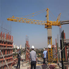 buy tower crane in india yongli for buiding manufacturer tc4808