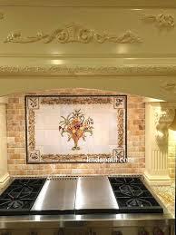 kitchen tile murals tile backsplashes tuscan tile backsplash wanderfit co