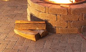 Stone Fire Pit Kits by Diy Rumblestone Seat Wall And Fire Pit Kit Installation