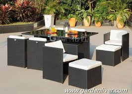 tavoli da giardino rattan esterno da giardino in rattan wicker dining set buy product on