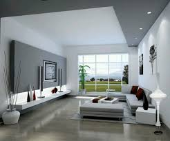 living room red stain wall feature varnished wood floor tile and