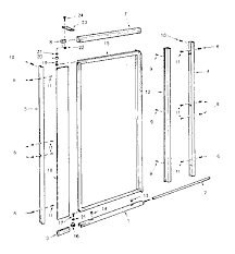Shower Door Part Sears Pivot Shower Door Parts Model 392670030 Sears Partsdirect