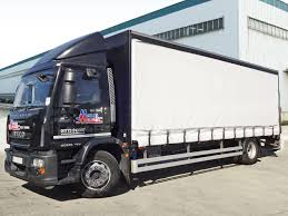 maun motors self drive 18t curtain side truck hire day cab