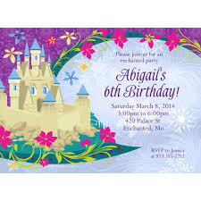 frozen invitation custom invitations supplies