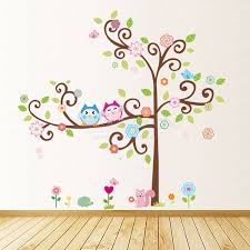 and tree wall sticker